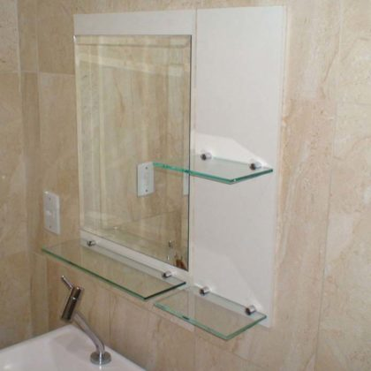 espelho bisotado para banheiro