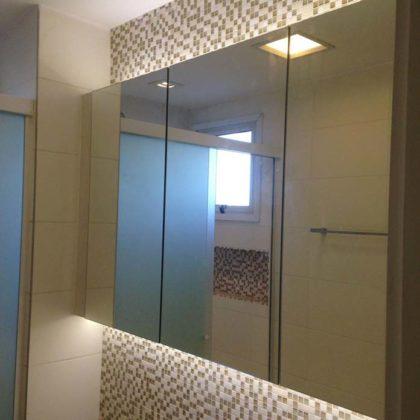 espelho para banheiro com armário
