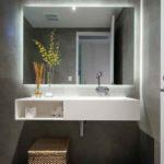 espelho para banheiro com led