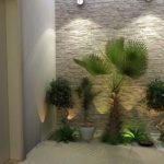 Decoração com plantas naturais