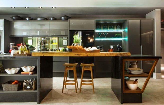Decoração contemporânea para cozinha
