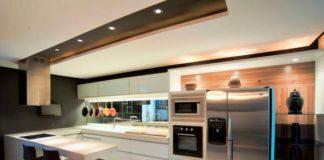 Decoração de cozinha moderna