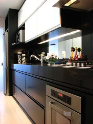Decoração de cozinha moderna pequena
