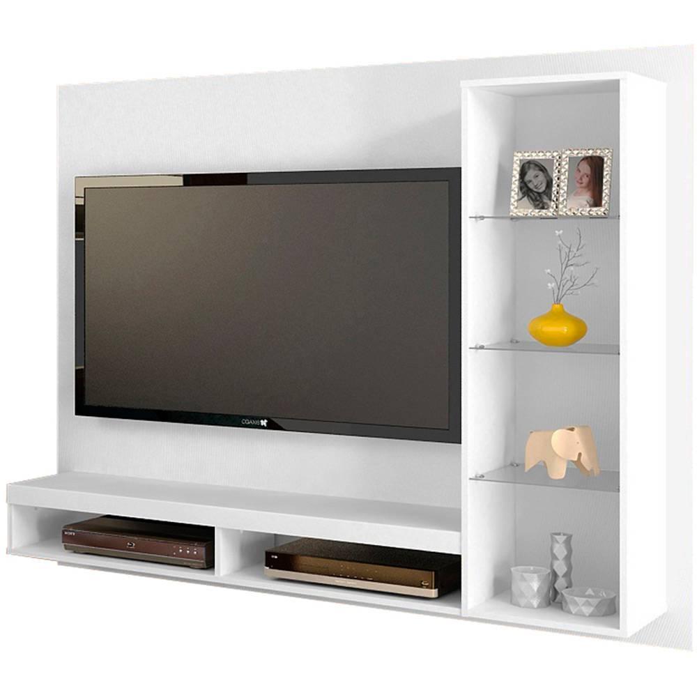 Painel De Tv Branco 07 Ideabrasil Com Br -> Foto Painel Para Tv