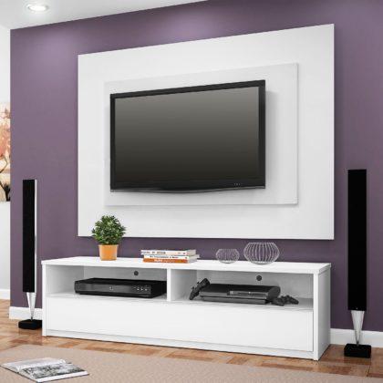 Painel de TV branco
