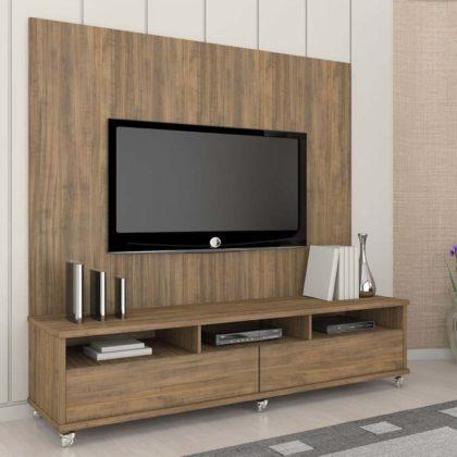 Painel de TV com rack