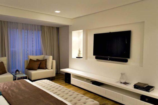 Painel de TV para quarto