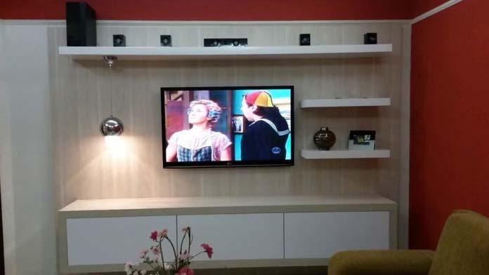 Painel de TV planejado