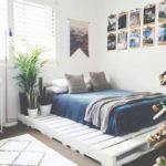 Decoração com paletes para quarto