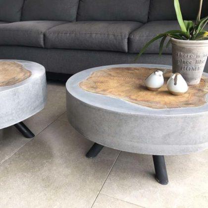 Peças decorativas de cimento