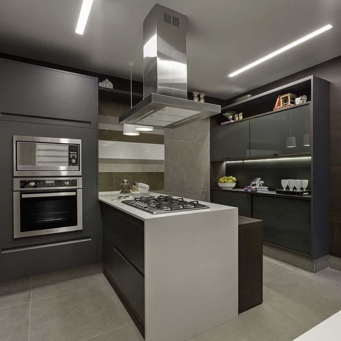 Rebaixamento de gesso Como fazer? Ideias para quarto, sala e mais! -> Decoração De Gesso No Teto Da Cozinha