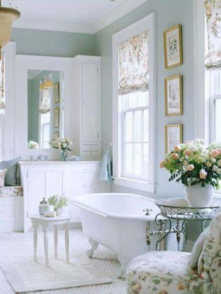 estilo Decoração provençal banheiro