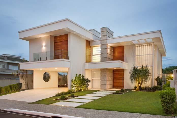 Cores modernas para casas