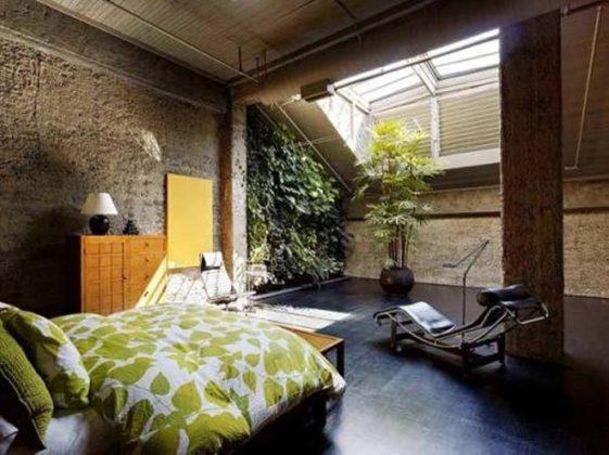 Jardim de inverno no quarto