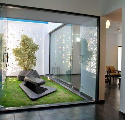 Jardim de inverno para sala