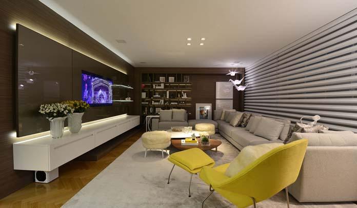 Sala moderna grande