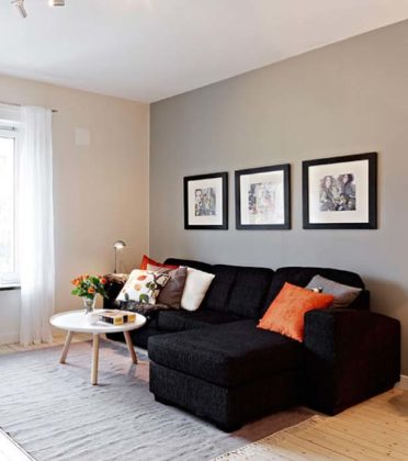 Sala moderna simples e barata