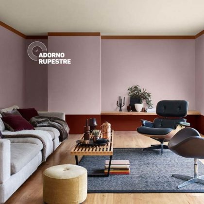 casa com cor Adorno rupestre