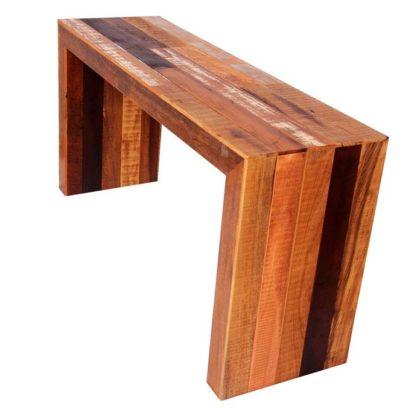 Aparador de madeira de demolição
