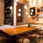 Cortinas para sala de jantar