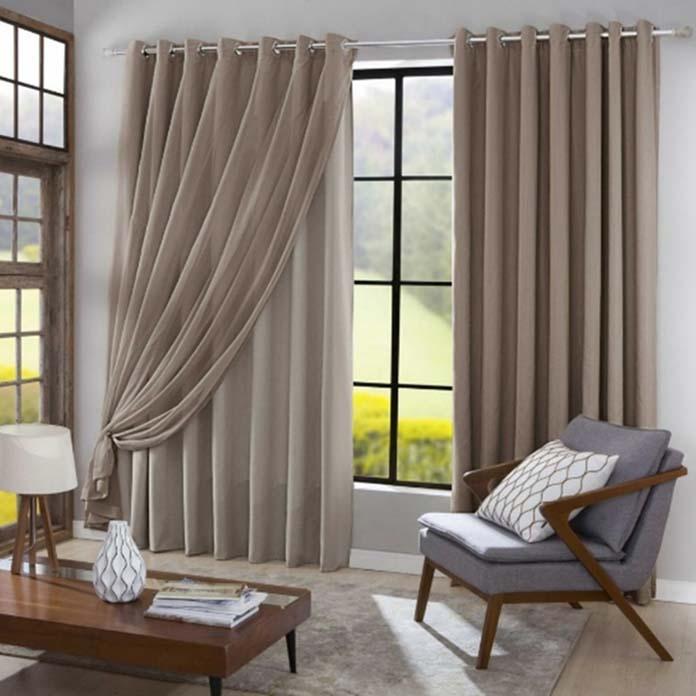 Cortinas para a sala veja dicas modelos inspira es e - Cortinas para sala ...