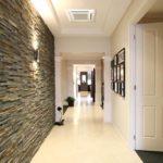 Decoração de parede com cerâmica