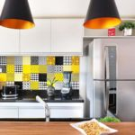 Decoração de parede de cozinha