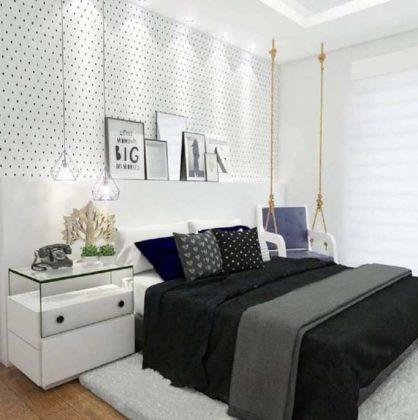 Decoração de parede de quarto