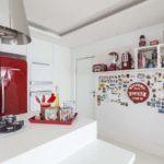 Decoração retrô de cozinha