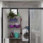 Decoração de lavanderia no quintal