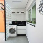 lavanderia com decoração simples