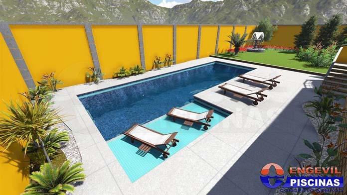 projetos de piscina
