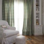 quarto de bebe decorado com cortina