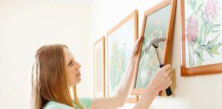 Como colocar quadro na parede