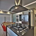 Cozinha gourmet com ilha