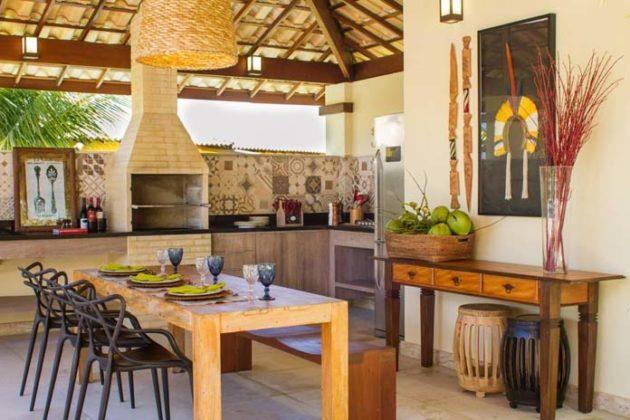 Cozinha gourmet na varanda