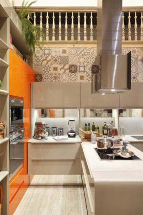 Cozinha gourmet pequena