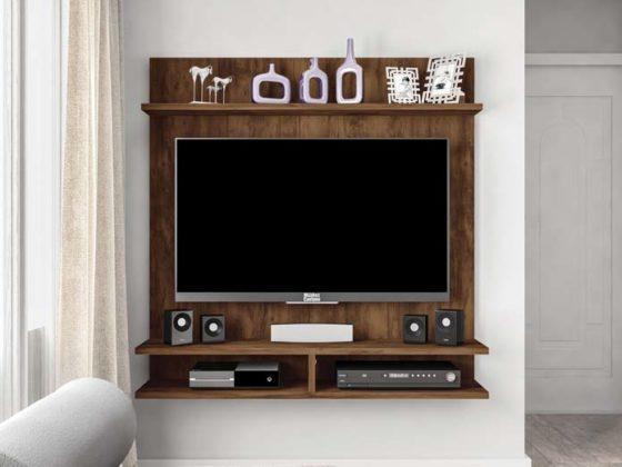 Estante para sala com painel para TV