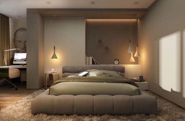 Iluminação para quarto