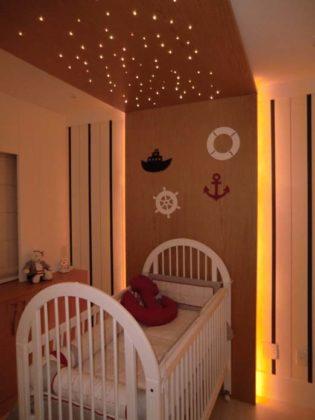 Iluminação para quarto de bebê