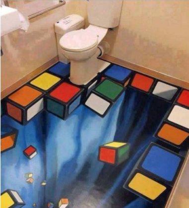 Porcelanato líquido para banheiro