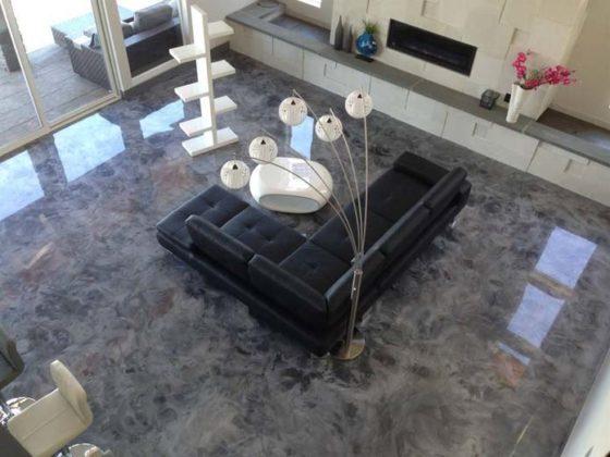 Porcelanato líquido para sala
