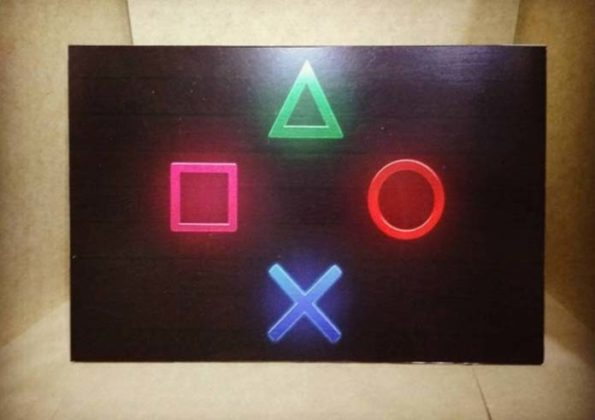 decoracao com Quadros de games