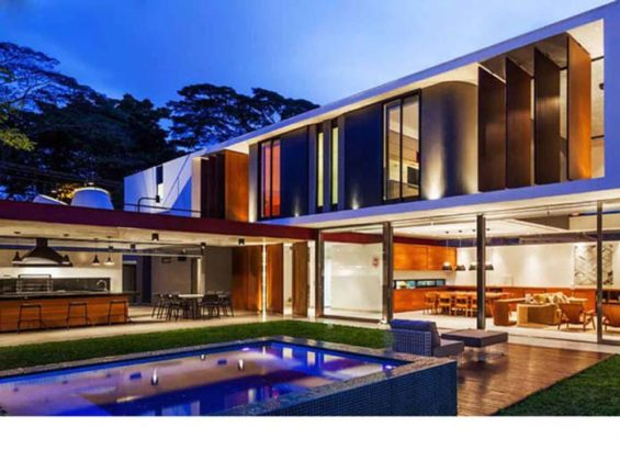 casas de estrutura metálica