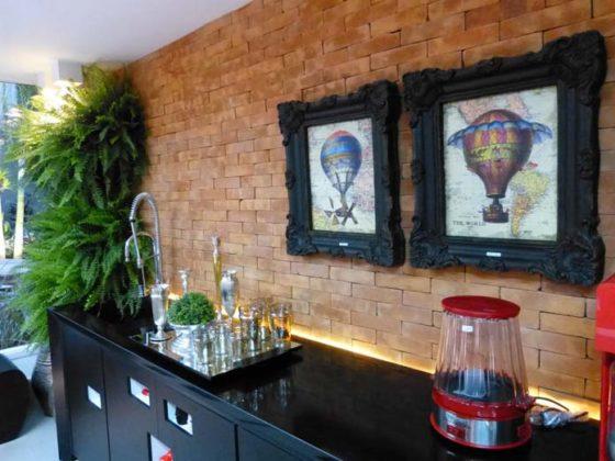 decoração com quadros na cozinha