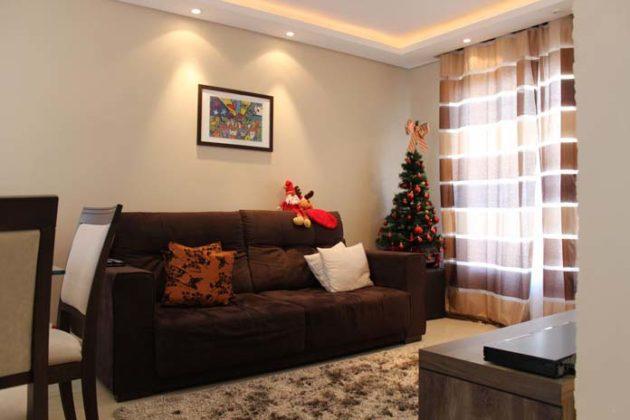 Decoração de Natal para a sala