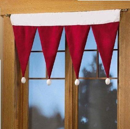 Enfeites de natal para janelas