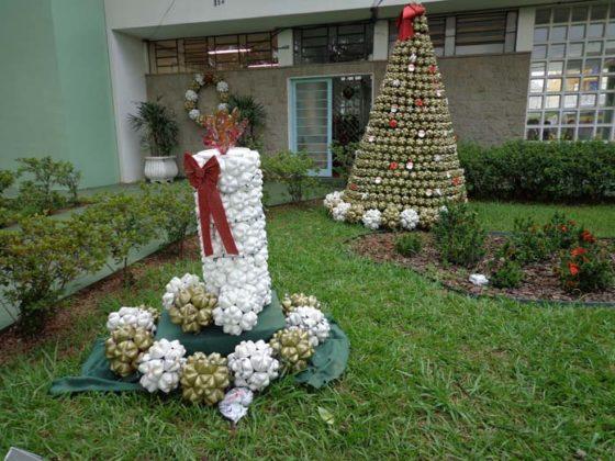 Enfeites de natal para jardim