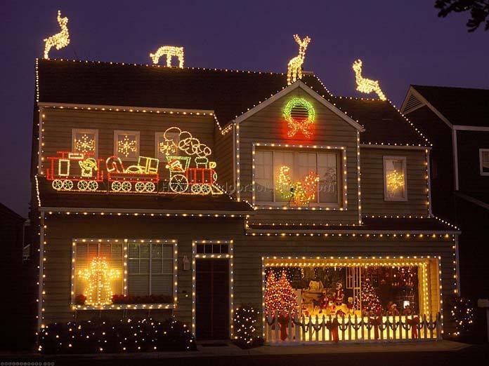 Iluminação temática de Natal