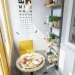 Prateleiras e nichos para varandas pequenas